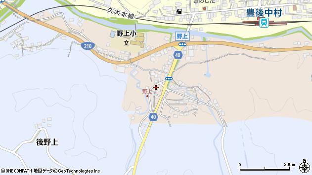 大分県玖珠郡九重町野上31周辺の地図
