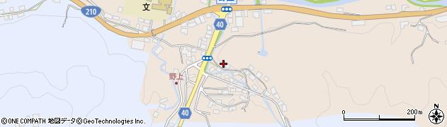 大分県玖珠郡九重町野上499周辺の地図