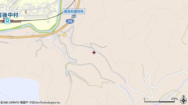 大分県玖珠郡九重町野上1274周辺の地図