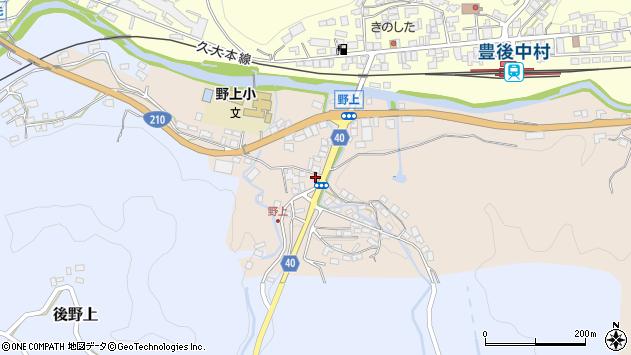 大分県玖珠郡九重町野上6周辺の地図