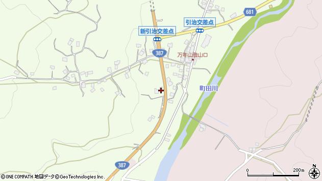 大分県玖珠郡九重町引治683周辺の地図
