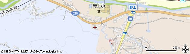 大分県玖珠郡九重町野上19周辺の地図