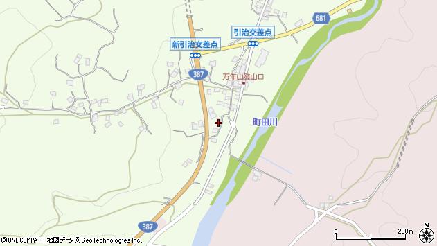 大分県玖珠郡九重町引治687周辺の地図