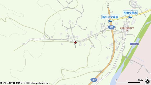 大分県玖珠郡九重町引治708周辺の地図