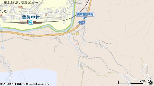 大分県玖珠郡九重町野上1266周辺の地図