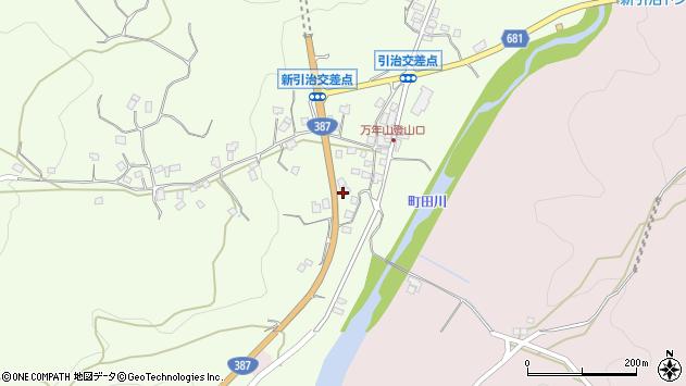 大分県玖珠郡九重町引治686周辺の地図