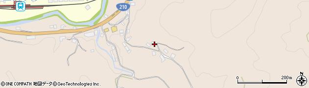 大分県玖珠郡九重町野上1276周辺の地図
