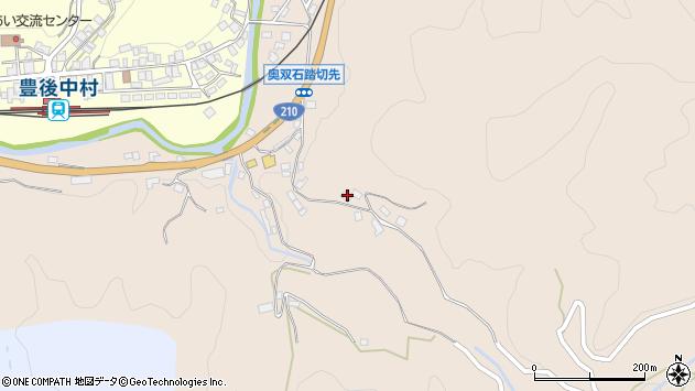 大分県玖珠郡九重町野上1273周辺の地図
