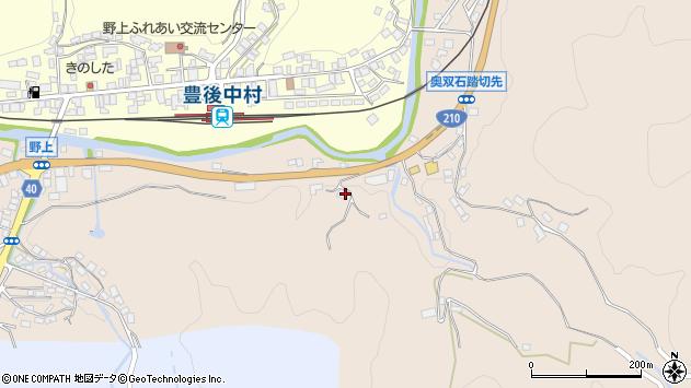 大分県玖珠郡九重町野上592周辺の地図