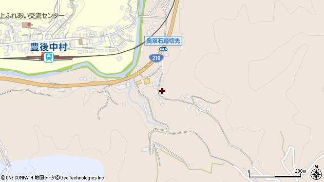大分県玖珠郡九重町野上1285周辺の地図