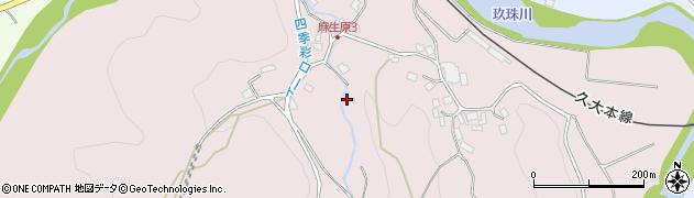 大分県玖珠郡九重町町田925周辺の地図