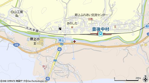 大分県玖珠郡九重町野上527周辺の地図