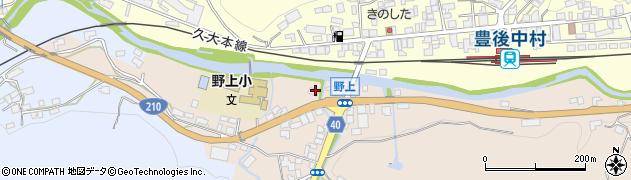 大分県玖珠郡九重町野上1周辺の地図