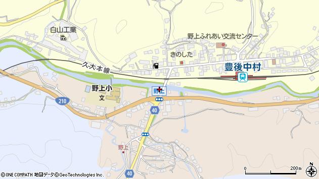 大分県玖珠郡九重町野上521周辺の地図