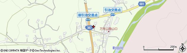大分県玖珠郡九重町引治650周辺の地図