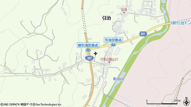 大分県玖珠郡九重町引治652周辺の地図