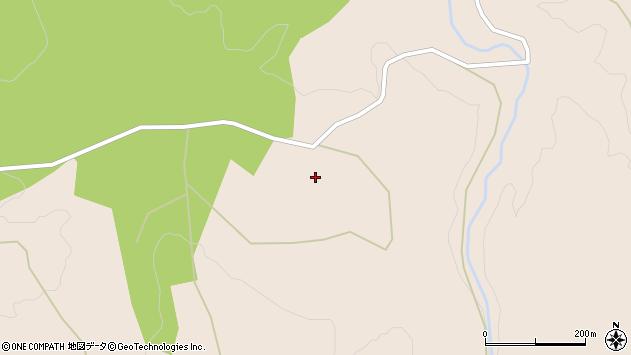 大分県玖珠郡九重町野上中原周辺の地図