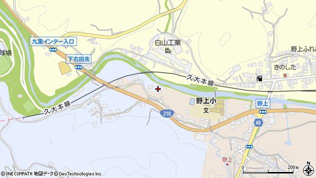 大分県玖珠郡九重町後野上137周辺の地図