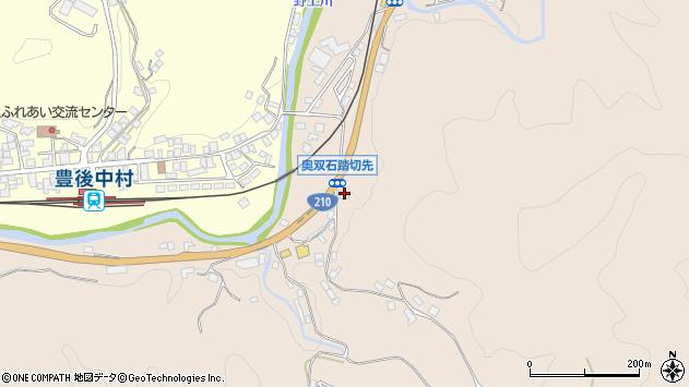 大分県玖珠郡九重町野上1298周辺の地図