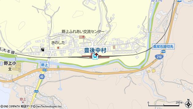 大分県玖珠郡九重町右田中央町3丁目周辺の地図