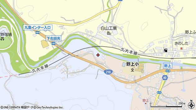 大分県玖珠郡九重町後野上136周辺の地図