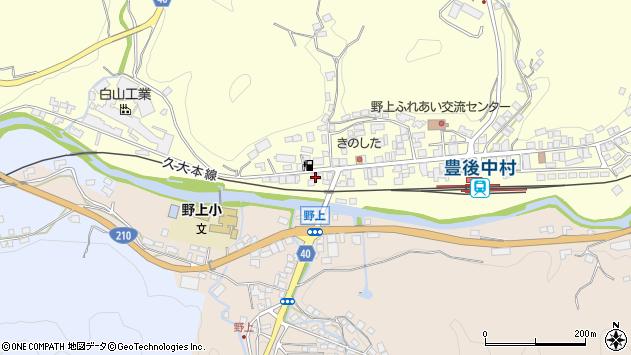 大分県玖珠郡九重町右田1008周辺の地図