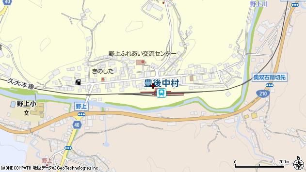 大分県玖珠郡九重町右田714周辺の地図