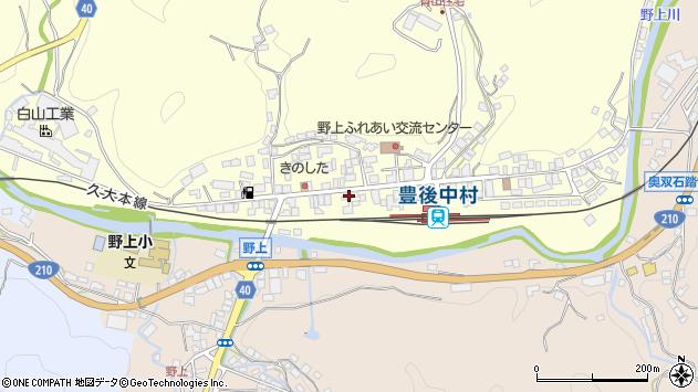 大分県玖珠郡九重町右田720周辺の地図