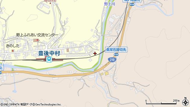 大分県玖珠郡九重町右田691周辺の地図