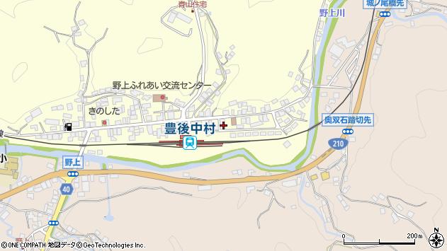 大分県玖珠郡九重町右田709周辺の地図