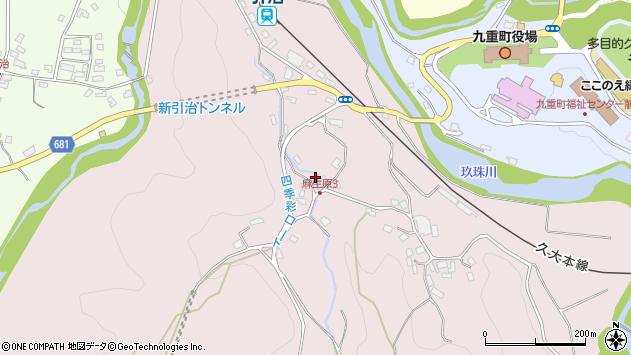 大分県玖珠郡九重町町田886周辺の地図