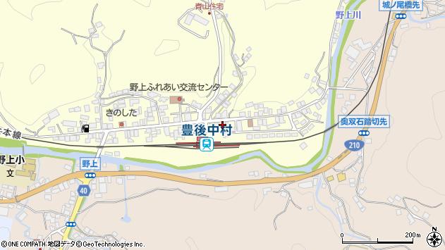 大分県玖珠郡九重町右田713周辺の地図