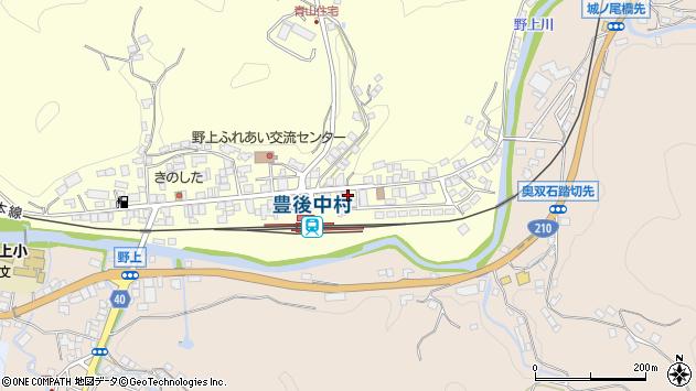 大分県玖珠郡九重町右田711周辺の地図