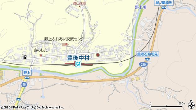 大分県玖珠郡九重町右田706周辺の地図