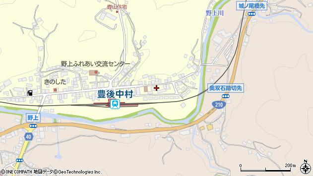 大分県玖珠郡九重町右田701周辺の地図