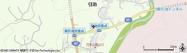 大分県玖珠郡九重町引治656周辺の地図