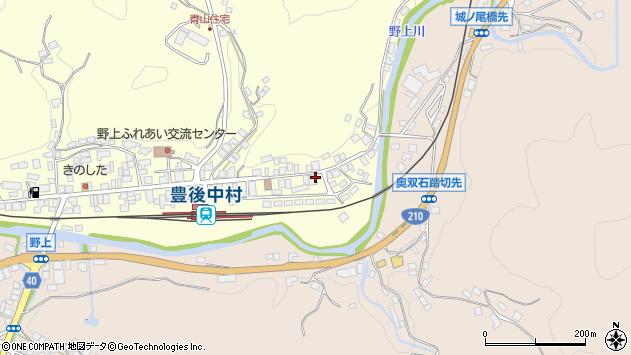 大分県玖珠郡九重町右田698周辺の地図