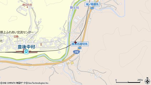 大分県玖珠郡九重町野上1313周辺の地図