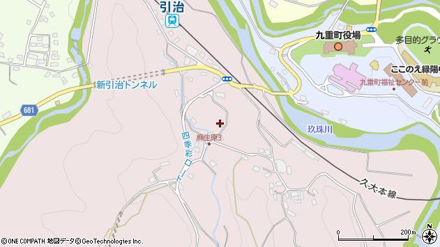 大分県玖珠郡九重町町田5436周辺の地図