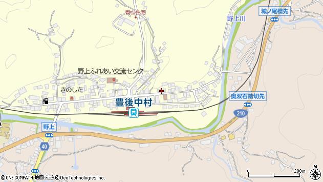 大分県玖珠郡九重町右田671周辺の地図