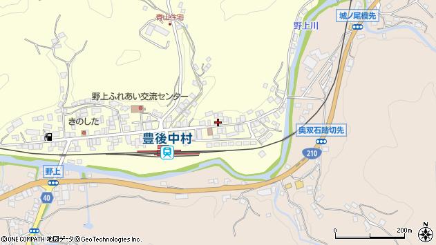 大分県玖珠郡九重町右田672周辺の地図