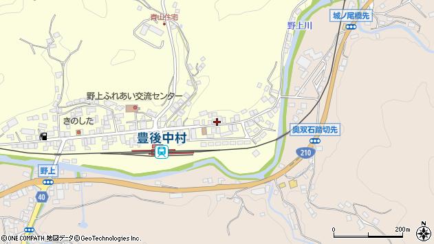 大分県玖珠郡九重町右田673周辺の地図