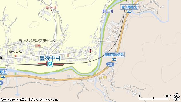 大分県玖珠郡九重町右田605周辺の地図