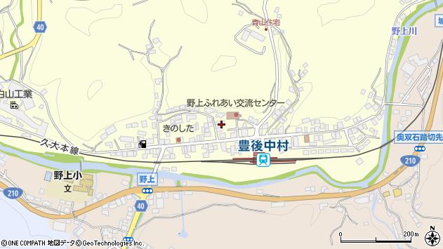 大分県玖珠郡九重町右田742周辺の地図