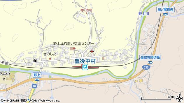 大分県玖珠郡九重町右田762周辺の地図