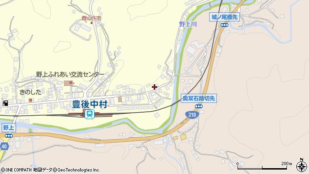 大分県玖珠郡九重町右田616周辺の地図