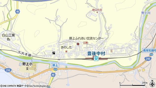 大分県玖珠郡九重町右田737周辺の地図