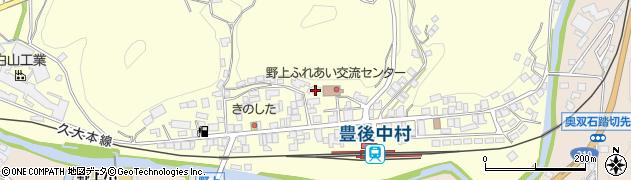 大分県玖珠郡九重町右田743周辺の地図