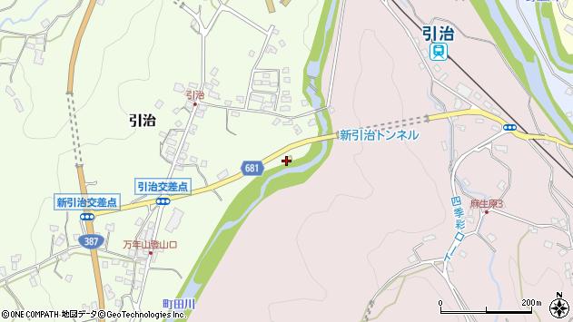 大分県玖珠郡九重町引治546周辺の地図