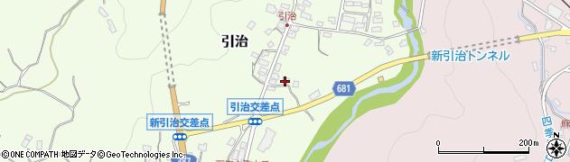大分県玖珠郡九重町引治589周辺の地図